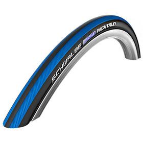 "SCHWALBE Rightrun Active Clincher Tyre 24x1.00"" for Wheelchair, czarny/niebieski"